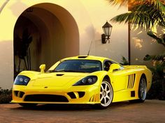 Saleen S7: $585,000 - This super car's 7.0-litre twin-turbocharged V8 engine can thrust an easy 750-horsepower that can accelerate to 62 miles per hour in 3.2 seconds, and has a top speed of 248 miles per hour.