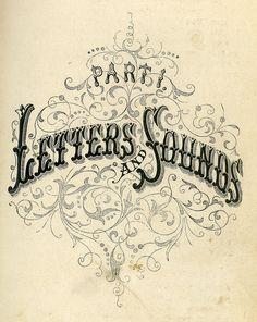 Vintage typography #type #typography #vintage