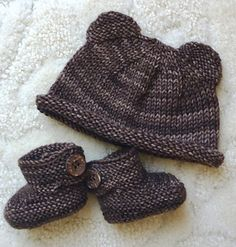 "...n between each decrease round. Tie off top when 8 stitches remain. Ears knit with 11 <span class=""best-highlight"">stitches per needle as with the</span> small preemie hat. Newborn (13.5"" circ.): c/0 68 stitches, kni..."