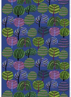 Isoisän puutarha, Design Teresa Moorhouse for Marimekko