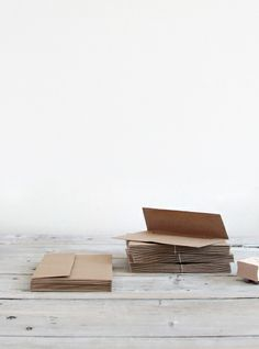 beautiful paper goods shop | kraft paper envelopes