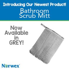 Our heavy-duty Bathroom Scrub Mitt quickly removes stubborn dirt and grime on tiles, sinks, tubs, showers and more—without harsh chemicals that can find their way into waterways. You'll have a sparkling clean bathroom you can feel good about, knowing that no harmful chemicals will impact the environment, your family's health or your budget!