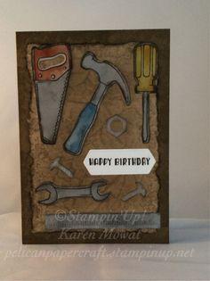 Nailed it stamp set by Stampin'Up! Karen Mowat pelicanpapercraft.stampinup.net