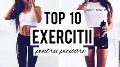 ANTRENAMENT ACASA/ TOP 10 EXERCITII PENTRU PICIOARE / Home Workout Routine[HD]