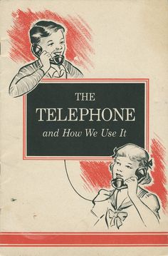 It's hard to remember a time when telephones didn't exist, but this hilarious etiquette booklet from 1951 reminds us that there was a time when they needed an instruction manual. Published by Bell Telephone System, The Telephone and How We Use It was intended as a beginner's guide on all things telephone. Funnily enough, there's still some good advice to remember even in our digital age.