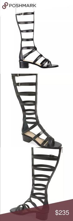 Mark Fisher Gladiator Sandal Black Summer Boots New in box leather summer boots Mark Fisher LTD Shoes Heeled Boots