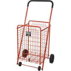 Drive Medical All Purpose Folding Cart, Red