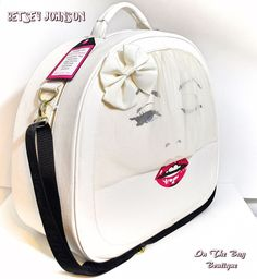 Betsey Johnson Marilyn Monroe Bride Weekender Travel Crossbody Train Case Bag   #BetseyJohnson #ShoulderBagCrossBodyTrainCase