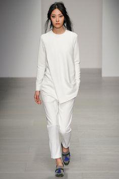 Eudon Choi - London Fashion Week - Otoño Invierno 2014/2015 - Fashion Runway