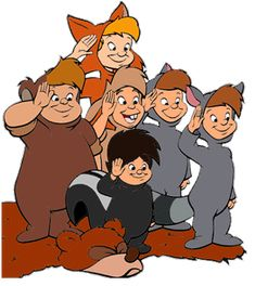 DAY 18: BEST NAME: All the names of the lost boys.. curly ..nibbs ..slighty...the twins...tootles