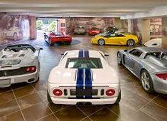 Lamborghini, Ferrari, Luxury Cars, Luxury Homes, Dream Car Garage, Garage House, Garage Shop, Custom Garages, Cool Garages