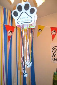 Preciosa piñata para el cumpleaños del perrito Rabi