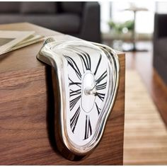 oh man, i hope this is real--want one!  it's like Dalí's clocks in Persistence of Memory