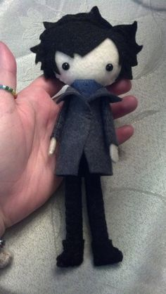 Sherlock plush by ~ClassicalKate on deviantART