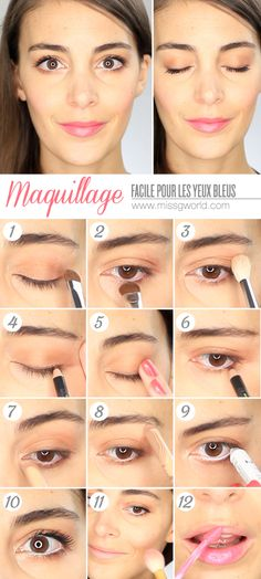 ... eyes maquillage jour maquillage facile facile yeux tutos beauté yeux