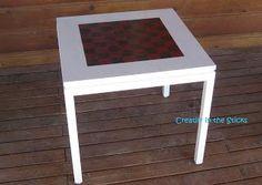 DIY Crafts DIY Checkered : DIY Front Porch and Checkerboard Table