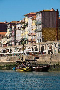 waterfront, Ribeira District, Porto, Portugal