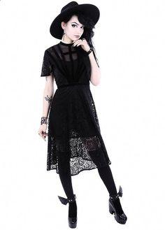 5cbed684ba7 Black Dahlia Gothic Dress  LatestMensWear DRESSES