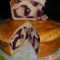 Ring Cake, Hungarian Recipes, Easter Recipes, Viera, Scones, Sandwiches, Deserts, Muffin, Cherry