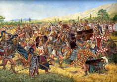Battle of Ampheia, 738 BC - Igor Dzis