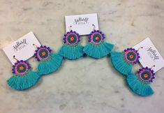 Wells Tassel Earrings