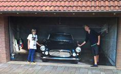 Sexy Classic car for Garage Door
