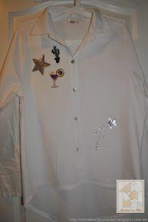 Intendencia con Belén: Customiza una camisa y estrena al momento