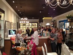 Alexa Hampton booksigning for her first book, The Language of Interior Design, at Slifer Designs.