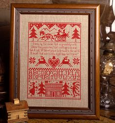 9 Needlework Patterns For Christmas