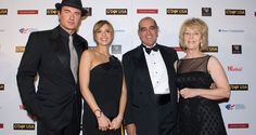 Julian McMahon and Jessica Alba, 2008 NY Black Tie Gala