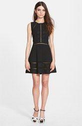 Glamorous Sleeveless Fit & Flare Dress