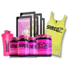 Deal of the Day – 30 DAY QUICK WEIGHT LOSS PLAN + Supplements w/ SHREDZ Alpha Tank & Shaker Cup  http://www.imuscletalk.com/