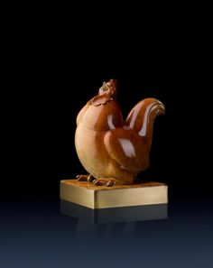 Brass Master Home decor sculpture - Metal crafts ornaments statue - Happy Chicken 3020011 Special Price: $288.00 Links: http://www.amazon.com/gp/product/B00KK3IT6O