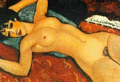 Catherine La Rose: ✿ Amedeo MODIGLIANI (1884 - 1920) ~ nude ✿ http://catherinelarose.blogspot.com/2012/11/amedeo-modigliani-1884-1920-nude.html