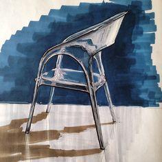 Design Sketches - Transparent Chair