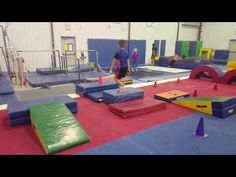 Learn forward roll exercises and how to instruct preschool gymnastics classes, including tumbling and basic gymnastic exercises for young children, in this f. Gymnastics At Home, Gymnastics Lessons, Preschool Gymnastics, Gymnastics Floor, Tumbling Gymnastics, Gymnastics Coaching, Kids Gym, Exercise For Kids, Kids Sports
