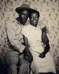 vintage couple http://blackloveisabeautifulthing.tumblr.com/post/3825776735