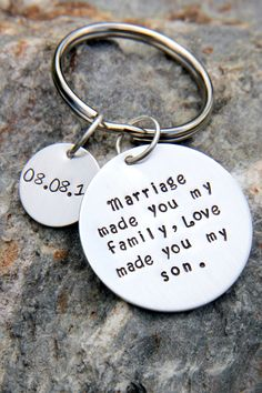 Gift For Stepson - Wedding - Son Gift - Stepmom by whiteliliedesigns on Etsy for my Isaac. ❤️