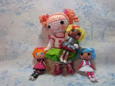 By Hook, By Hand: Variations on a Teacup Theme.   A blog to discuss cloth and crochet dolls made by hand.