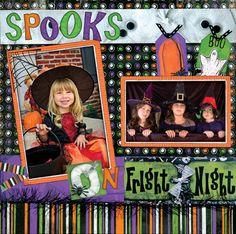 Spooks, layout by BoBunny