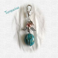 Turquoise Pet collar amulet Protection stone Healing Stones, Crystal Healing, Protection Stones, Pet Collars, Animal Jewelry, Turquoise Beads, Love And Light, Crystals And Gemstones, Friends In Love