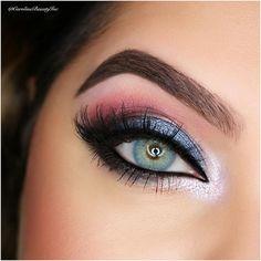 Solotica Hidrocor in Topaz / Topazio #eye #color #contacts #makeup Light Blue Green colored contatcs, Brazilian colored contact lenses Solotica