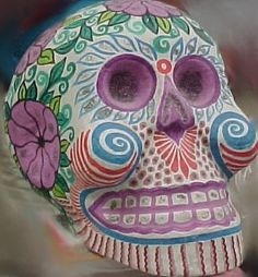 mexican skull are | Monday, January 3, 2011