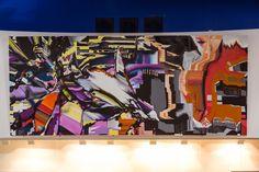 #askewone #muralist #largescalemurals #postgraffiti #glitch #postdigital #graffiti #elliotodonnell #interiordesign #painting Art, Desktop Screenshot