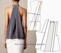 New ideas for sewing patterns free blouse fashion templates Sewing Patterns Free, Sewing Tutorials, Clothing Patterns, Dress Patterns, Free Sewing, Fashion Sewing, Diy Fashion, Ideias Fashion, Fashion Tips