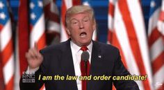 New trending GIF on Giphy. donald trump rnc republican national convention rnc 2016 i am the law and order candidate. Follow Me CooliPhone6Case on Twitter Facebook Google Instagram LinkedIn Blogger Tumblr Youtube