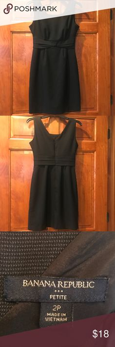 BANANA REPUBLIC DRESS This BANANA REPUBLIC dress has been worn minimally and shows no signs of wear and tear. It is in GREAT condition and is perfect for work or a Christmas party! Banana Republic Dresses