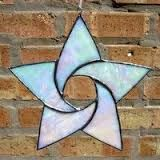 Image result for free form stained glass stars