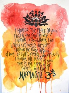 Namaste § -  #Quote ☮k☮