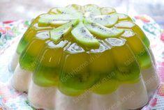 Желейный торт с фруктами - Вкусные рецепты с фото!